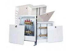 Шкаф коллекторный для радиаторного отопления и тёплый полов