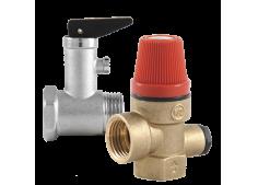 Клапана предохранительные, подпиточные и редуктор давления Valtec