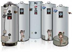 Водонагреватели газовые накопительные и проточные