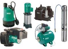 Насосы для отопления, водоснабжения и водоотведения