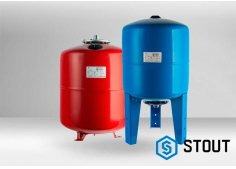 Бак гидроаккумулятор для водоснабжения Stout