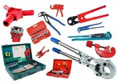 Инструмент и принадлежности для монтажа сантехнического оборудования