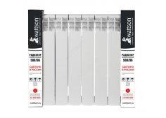 Радиаторы отопления алюминиевые секционные Wattson (Ваттсон)