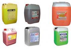 Теплоносители, жидкости и добавки