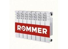 Радиатор отопления биметаллический секционный Rommer