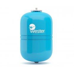 Бак гидроаккумулятор для водоснабжения вертикальный  Wester 18 л, WAV18 10 бар/110°C, (сменная мембрана)