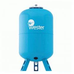 Бак гидроаккумулятор для водоснабжения вертикальный Wester 200 л, WAV200 10 бар/110°C, (сменная мембрана)