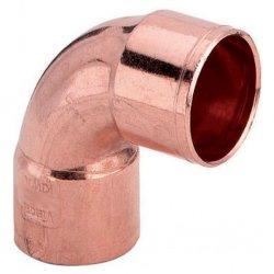 Угол 90° медный двухраструбный под пайку Ду 18 мм. купить в Твери
