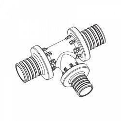 Тройник с уменьшенным боковым проходом для труб из сшитого полиэтилена аксиальный 40-20-40PXRAUTITAN REHAU 11600671001 купить в Твери