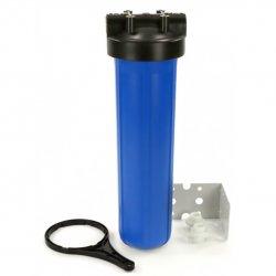 """Фильтр магистральный для холодной воды Aquatech Water Technology FH20BB-B 20"""", 1"""" с кронштейном и ключом"""