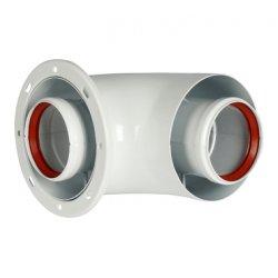 Комплект коаксиального дымохода STOUT 60/100, L=850 мм (совместимый с Protherm Рысь, Ягуар) SCA-6010-220850 низкая цена, купить в Твери