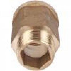 """Удлинитель шестигранный латунный без покрытия 1/2""""х3/4"""" STOUT SFT-0054-001234, купить в Твери"""