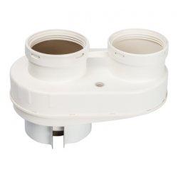 Адаптер для подключения раздельны труб DN80/80 (совместимый с Vaillant,Ptotherm New) PP-Ryton STOUT SCA-8080-230002 низкая цена, купить в Твери