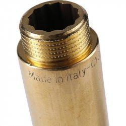 """Удлинитель латунный без покрытия ВР-НР 3/4""""х70 STOUT SFT-0001-003470, купить в Твери"""