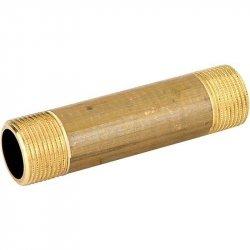 """Удлинитель латунный без покрытия НР-НР 1""""х80 STOUT SFT-0062-000180, купить в Твери"""