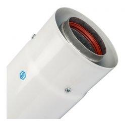Труба коаксиальная телескопическая DN60/100 470-750 мм п/м, уплотнения и хомут в комплекте STOUT SCA-6010-004775 низкая цена, купить в Твери