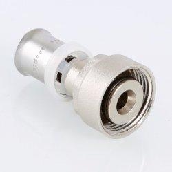 """Пресс-фитинг с накидной гайкой под Евроконус 16х2,0х3/4"""" VALTEC VTc.712.NE.1605 купить в Твери"""