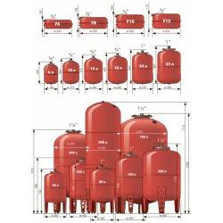 Бак расширительный для отопления Джилекс 10 л / 5 бар