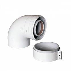 Коаксиальный отвод 90, BAXI 60/100 KHG71410141- низкая цена, купить в Твери