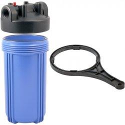 Корпуса Big Blue применяются для очистки больших потоков воды и в тех случаях, если вода сильно загрязнена. Устанавливается на входе водопроводной магистрали в квартиру или других объектах. Рекомендуется: для домов и квартир с 1-3 санузлами и средним и вы