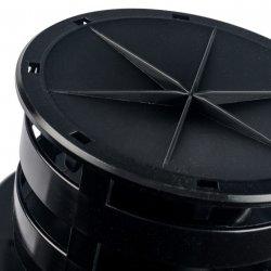 Дымоход вертикальный утепленный DN60/100 - 1000 мм, STOUT SCA-6010-800001 купить в Твери