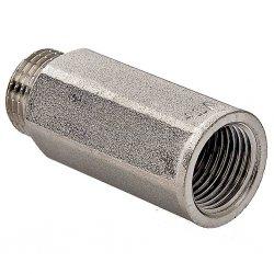 """Удлинитель латунный никелированный VALTEC, 1/2"""" вн. х 15 мм"""