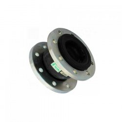 Резиновый антивибрационный компенсатор фланцевый (гибкая вставка) Tecofi ф/ф Ду 300 Ру 16