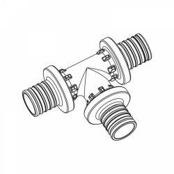 Тройник равнопроходной для труб из сшитого полиэтилена аксиальный 25-25-25 PXRAUTITAN REHAU 11600331001 купить в Твери