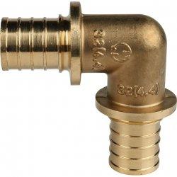 Угольник аксиальный для труб из сшитого полиэтилена 90° 32 STOUT SFA-0007-000032, купить в Твери