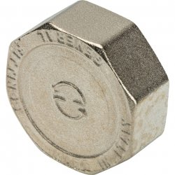 """Заглушка никелированная ВР 1"""" Stout SFT-0027-000001, купить в Твери"""