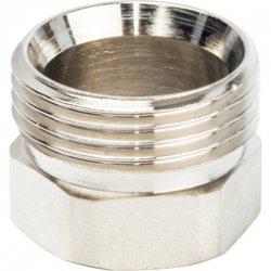 """Разъемное соединение латунное никелированное """"американка"""", уплотнение под гайкой o-ring кольцо, ВР-НР 1"""" Stout SFT-0041-000001, купить в Твери"""