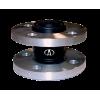 Резиновый антивибрационный компенсатор фланцевый (гибкая вставка) АДЛ FC10-032 Ду 032, Ру10 Тmax=110°C