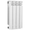 Радиатор отопления биметаллический секционный 4 секции (белый RAL 9016) BASE 500 Rifar