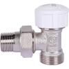 Клапан термостатический, угловой 1/2 х 3/4 ЕК (евроконус) STOUT