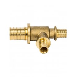 Тройник аксиальный переходной для труб из сшитого полиэтилена 25х16х16 STOUT SFA-0014-251616, купить в Твери