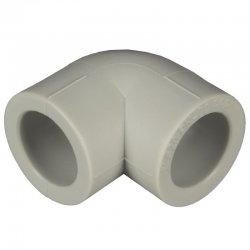 Угольник Pro Aqua PPR 25/90°, серый