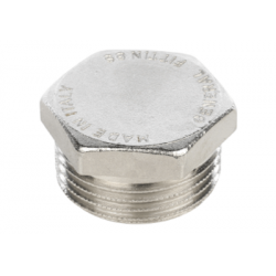"""Заглушка никелированная НР 1/2"""" Stout SFT-0025-000012, купить в Твери"""